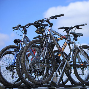 Bike Hire at Long Meadow Campsite