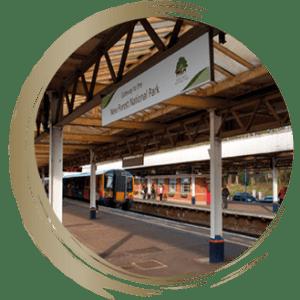 Brockenhurst Train Station